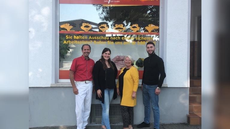 Merkur Zeitarbeit Standort Friedrichshafen Aussenansicht